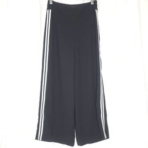 Express High Rise Pants Cropped Wide Leg Culottes